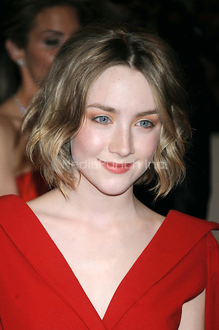 Saoirse Ronan at the 'Alexander McQueen: Savage Beauty' Costume Institute Gala at The Metropolitan Museum of Art in New York City. May 2, 2011. © mpi01 / MediaPunch Inc.