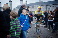 Jos van Emden (NLD/LottoNL-Jumbo) to the start<br /> <br /> 101th Liège-Bastogne-Liège 2015