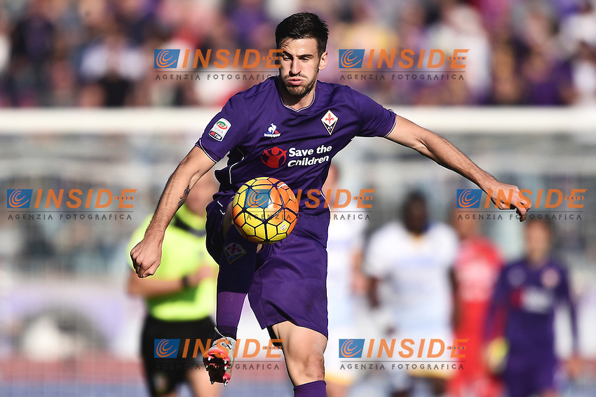 Nenad Tomovic Fiorentina <br /> Firenze 01-11-2015 Stadio Artemio Franchi Football Calcio Serie A 2015/2016 Fiorentina - Frosinone Foto Andrea Staccioli / Insidefoto