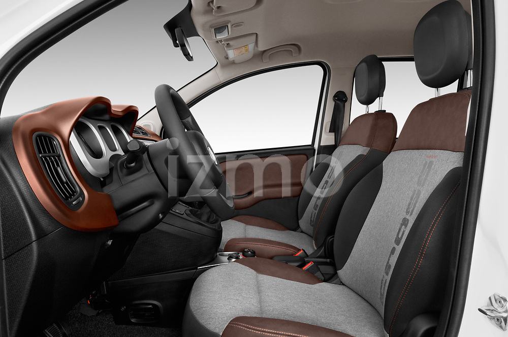Front seat view of 2017 Fiat Panda Cross 5 Door SUV Front Seat  car photos