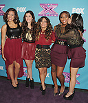 LOS ANGELES, CA - DECEMBER 20: Fifth Harmony attend the FOX's 'The X Factor' Season Finale - Night 2 at CBS Televison City on December 20, 2012 in Los Angeles, California.