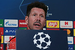 Diego Simeone Head coach of Atletico Madrid during the press conference at Juventus Stadium, Turin. Picture date: 25th November 2019. Picture credit should read: Jonathan Moscrop/Sportimage