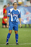 11 June 2003: Staci Burt. The Carolina Courage defeated the Washington Freedom 3-0 at SAS Stadium in Cary, NC in a regular season WUSA game.