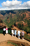 Hawaii: Kauai, at Waimea Canyon.  Photo hifree145.Photo copyright Lee Foster, 510/549-2202, lee@fostertravel.com, www.fostertravel.com