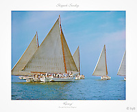 Special Gallery edition of this Fine Art Limited Edition Skipjack print from the ~ &quot;Skipjack Sunday&quot; collection.<br />