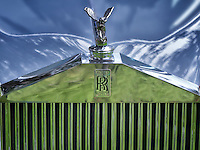 Front grill of RR Rolls Royce. Oregon