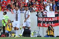 RIO DE JANEIRO, 11.05.2014 - Fred  do Fluminense comemora seu gol durante o jogo contra Flamengo pela quarta rodada do Campeonato Brasileiro disputado neste domingo no Maracanã. (Foto: Néstor J. Beremblum / Brazil Photo Press)
