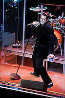 Travis Ledoyt performing as Elvis Presley at Voodoo Lounge of Harrah's Casino in St. Louis, MO on June 24, 2010.