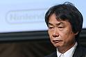 Nintendo Co. senior managing director Shigeru Miyamoto attends a news conference in Tokyo, October 29, 2015. (Photo by Takeshi Sumikura/AFLO)