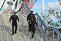 Police presents at the London stadium during West Ham United vs Burnley, Premier League Football at The London Stadium on 3rd November 2018