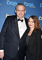 HOLLYWOOD, CA - FEBRUARY 02: Adam McKay (L) and Shira Piven attend the 71st Annual Directors Guild Of America Awards at The Ray Dolby Ballroom at Hollywood & Highland Center on February 02, 2019 in Hollywood, California.<br /> CAP/ROT/TM<br /> ©TM/ROT/Capital Pictures