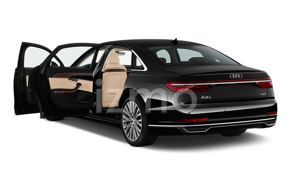 Car images of 2019 Audi A8-L - 4 Door Sedan Doors