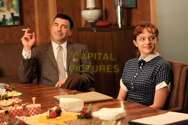 BRYAN BATT, ELISABETH MOSS<br /> in Mad Men (Season 2)<br /> *Filmstill - Editorial Use Only*<br /> CAP/FB<br /> Image supplied by Capital Pictures