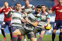 Puertas (forward; Granada CF) during the Spanish football of La Liga 123, match between CA Osasuna and  Granada CF at the Sadar stadium, in Pamplona (Navarra), Spain, on Sunday, February 3, 2019.