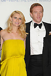 LOS ANGELES, CA - SEPTEMBER 23: Claire Danes and Damian Lewis pose in the press room at the 64th Primetime Emmy Awards held at Nokia Theatre L.A. Live on September 23, 2012 in Los Angeles, California.