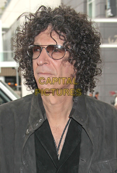 "Howard Stern.""America's Got Talent"" Los Angeles Auditions held at the Pantages Theatre, Los Angeles, California, USA..April 24th, 2013.headshot portrait black grey gray jacket sunglasses shades tinted glasses .CAP/ADM/RE.©Russ Elliot/AdMedia/Capital Pictures."