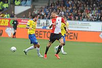 VOETBAL: LEEUWARDEN: 16-08-2015, SC Cambuur - Feyenoord, uitslag 0-2, Michiel Kramer (#31), ©foto Martin de Jong