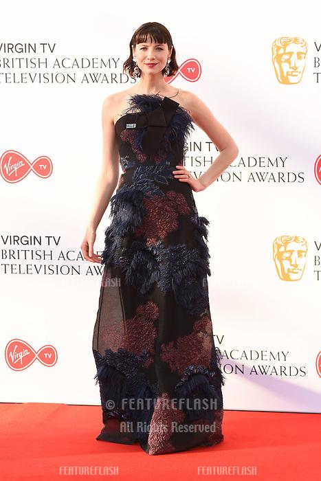 Catriona Balfe arriving for the BAFTA TV Awards 2018 at the Royal Festival Hall, London, UK. <br /> 13 May  2018<br /> Picture: Steve Vas/Featureflash/SilverHub 0208 004 5359 sales@silverhubmedia.com