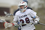 Los Angeles, CA 02/18/11 - Chase Parlett (LMU #28) in action during the Loyola Marymount - BYU game at LMU.