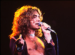 Led Zeppelin 1977 Robert Plant..