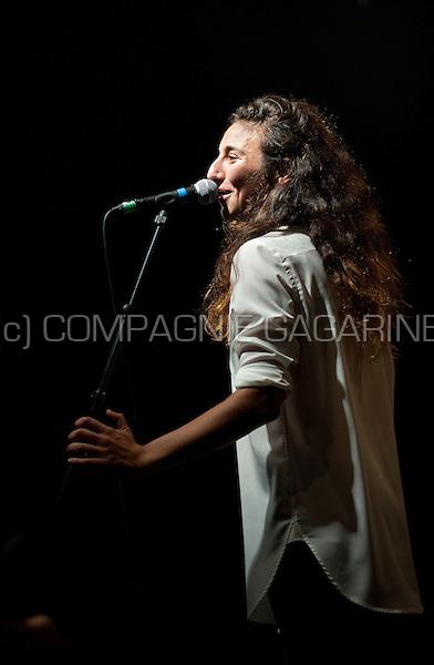 Concert of the Belgian indie rock band Intergalactic Lovers at the Leffingeleuren festival, in Leffinge (Belgium, 20/09/2014)