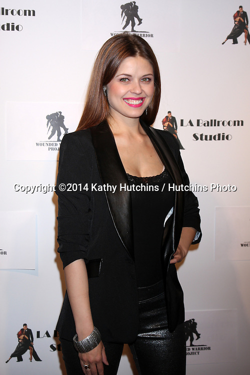 LOS ANGELES - MAR 31:  Anna Trebunskaya at the LA Ballroom Studio Grand Opening at LA Dance Studio on March 31, 2014 in Sherman Oaks, CA