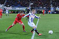 VOETBAL: HEERENVEEN: 06-02-16, Abe Lenstra Stadion, SC Heerenveen - FC Twente, uitslag 1-3, Sam Larsson, ©foto Martin de Jong