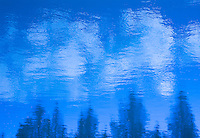 """BOW RIVER IMPRESSIONISM IN BLUE""<br />