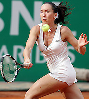 Internazionali d'Italia di tennis a Roma, 16 maggio 2008. Torneo femminile..Italy's Masters tennis women's tournament in Rome, 16 may 2008..Serbia's Jelena Jankovic..UPDATE IMAGES PRESS/Riccardo De Luca