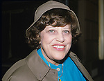 Kaye Ballard photographed in September of 1981 in New York City.