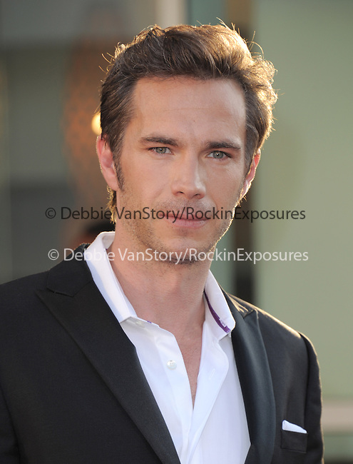 James D'Arcy attends The Twentieth Century Fox L.A. Premiere of Let's Be Cops held at The Cinerama Dome in Beverly Hills, California on August 07,2014                                                                               © 2014 Hollywood Press Awards