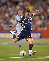 New England Revolution midfielder Andy Dorman (25). The New England Revolution defeated the Colorado Rapids, 1-0, at Gillette Stadium in Foxboro, MA on September 29, 2007.