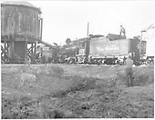 K-28 #478 doubleheading a passenger train.<br /> D&amp;RGW  La Boca, CO  Taken by Payne, Andy M. - 5/29/1967