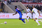 Rowllin Borges of India (L) in action during the AFC Asian Cup UAE 2019 Group A match between India (IND) and Bahrain (BHR) at Sharjah Stadium on 14 January 2019 in Sharjah, United Arab Emirates. Photo by Marcio Rodrigo Machado / Power Sport Images
