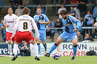 Tommy Doherty of Wycombe Wanderers, former Bristol City and Northern Ireland International, in action during Wycombe Wanderers vs Lincoln City, Coca Cola League Division Two Football at Adams Park on 23rd August 2008