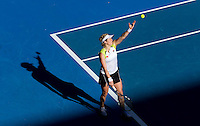 KIM CLIJSTERS (BEL) against MARIA JOAO KOEHLER (POR) in the first round of the Women's Singles. Kim Clijsters beat Maria Joao Koehler 7-5 6-1..16/01/2012, 16th January 2012, 16.01.2012..The Australian Open, Melbourne Park, Melbourne,Victoria, Australia.@AMN IMAGES, Frey, Advantage Media Network, 30, Cleveland Street, London, W1T 4JD .Tel - +44 208 947 0100..email - mfrey@advantagemedianet.com..www.amnimages.photoshelter.com.
