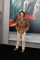 "LOS ANGELES - APR 4:  Jake Lacy at the ""Rampage"" Premiere at Microsoft Theater on April 4, 2018 in Los Angeles, CA"