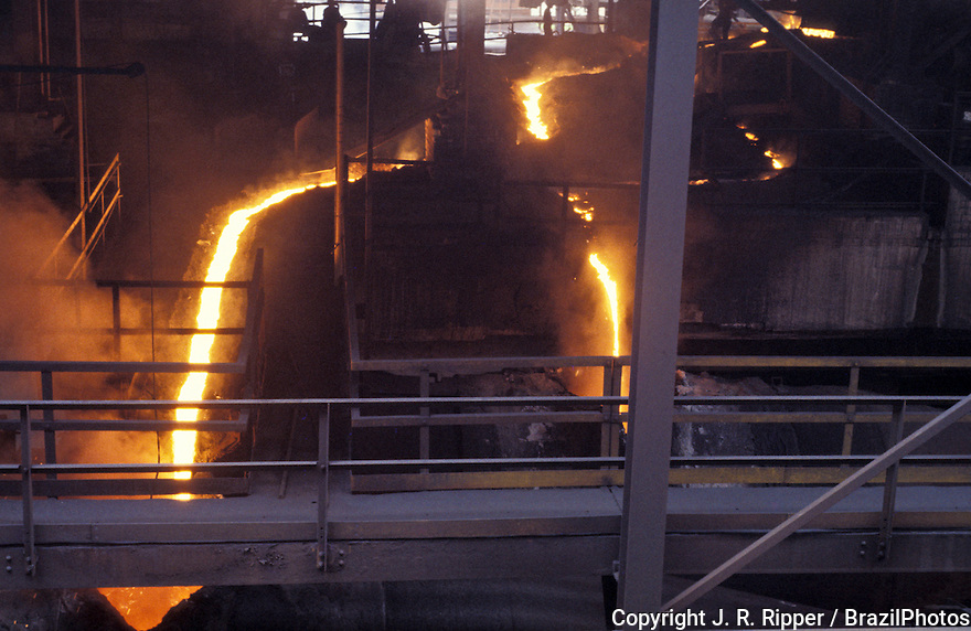Metallurgy of iron and steel, Brazil.