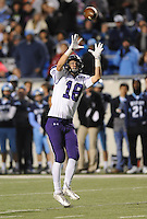 NWA Democrat-Gazette/ANDY SHUPE<br /> Garland Allison of Fayetteville makes a catch against Har-Ber Saturday, Dec. 5, 2015, during the first half of the Class 7A state championship game at War Memorial Stadium in Little Rock. Visit nwadg.com/photos to see more photographs from the game.