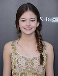 Mackenzie Foy attends The Los Angeles premiere of INTERSTELLAR, from Paramount Pictures and Warner Brothers Pictures held at The TCL Chinese Theatre in Hollywood, California on October 26,2014                                                                               © 2014 Hollywood Press Agency