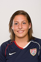 Victoria DiMartino. U-17 USA Women's National Team head shots on September 16, 2008. Photo by Howard C. Smith/isiphotos.com