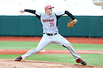 21 February 2015: Hartford's Kyle Gauthier. The Iona College Gaels played the University of Hartford Hawks in an NCAA Division I Men's baseball game at Jack Coombs Field in Durham, North Carolina as part of the Duke Baseball Classic. Hartford won the game 12-1.