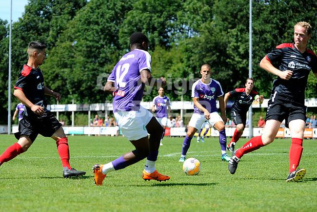 SURHUISTERVEEN - Voetbal, T Fean 58 - FC Groningen, voorbereiding seizoen 2018-2019, 07-07-2018,  FC Groningen speler Deyovaisio Zeefuik