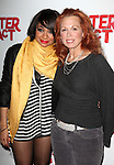 Carolee Carmello with Raven-Symone as she celebrates her Broadway Debut in 'Sister Act' at Ava Lounge in the Dream Hotel in New York City on 3/27/2012.