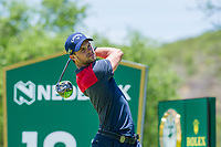 Thomas Detry (BEL) on the 18th tee on the 1st tee during the first round at the Nedbank Golf Challenge hosted by Gary Player,  Gary Player country Club, Sun City, Rustenburg, South Africa. 14/11/2019 <br /> Picture: Golffile | Tyrone Winfield<br /> <br /> <br /> All photo usage must carry mandatory copyright credit (© Golffile | Tyrone Winfield)