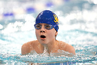 Picture by Richard Blaxall/SWpix.com - 14/04/2018 - Swimming - EFDS National Junior Para Swimming Champs - The Quays, Southampton, England - Toben Durrant of Co Cardiff during the Men's Open 100m Breaststroke