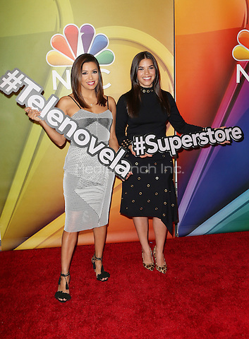 "Universal City, CA - November 18 Eva Longoria, America Ferrera Attending NBC Comedy Press Junket For ""Telenovela"" and ""Superstore"" At Universal Studios Hollywood On November 18, 2015. Photo Credit: Faye Sadou / MediaPunch"