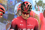 Ian Stannard (GBR) Team Ineos at sign on before the start of Stage 4 of La Vuelta 2019 running 175.5km from Cullera to El Puig, Spain. 27th August 2019.<br /> Picture: Eoin Clarke | Cyclefile<br /> <br /> All photos usage must carry mandatory copyright credit (© Cyclefile | Eoin Clarke)