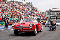 Motorsports: FIA Formula One World Championship, WM, Weltmeisterschaft 2019, Grand Prix of Mexico, 7 Kimi Raikkonen FIN, Alfa Romeo Racing,  during the drivers parade