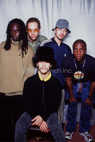 Jamiroquai at the WHFS Festival in Washington D.C. on May 31, 1997 © Scott Weiner /MediaPunch.
